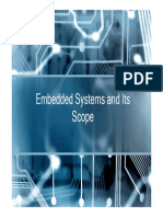 Embedded Systems and Its Scope