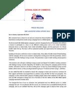 Weka Upewe Campaign Launch Press Release2014 (2) (2)