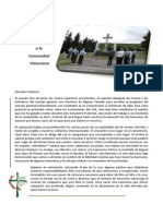 Carta Pastoral Del Superior General de Los CSV - Agosto 2014