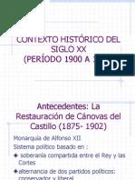 Contexto Historico Del Siglo Xx