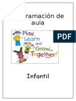 Programacion de Aula Infantil