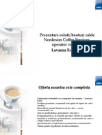 Prezentare Solutie Bauturi Calde Lavazza, Canto-
