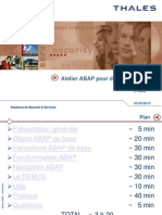 Atelier ABAP
