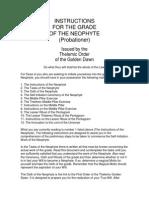 Neophyte in TGD