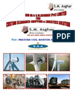 S.M.Asghar (Pvt) Limited Brouchere  CAA-2014