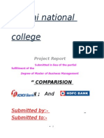 1Comparative Analysis Icici Bank Hdfc Bank