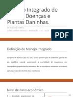 Manejo Integrado de Pragas, Doenças e Plantas 01