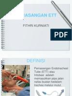 Pemasangan Ett by Fithri