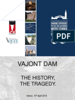 Technical Visit - Vajont Dam