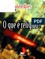 Rubem Alves - O Que é Religião
