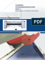 UNIVERSAL FOLDING MACHINE MAK-V (German - English)