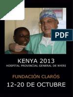 Viaje Humanitario Kenya 2013
