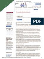 The Handiwork of Good Health - Harvard Health Publications