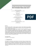 SISTEMA DE AQUISIÇÃO DE DADOS COM SENSORES INTELIGENTES CONFORME NORMA IEEE 1451.4