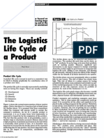 Logistics Lifecycle Within The Product Lifecycle