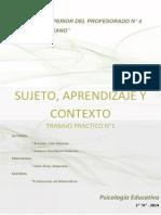 T.P. N°1- Ps Educativa