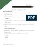 BMM10233 Chapter 5 Inequalities