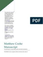Cooke Manuscript