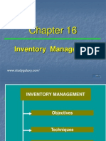 Inventory Management t