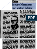 1972-07-03 Pittsburgh Post Gazette - The Obscure Massacre, Blood in Central Africa