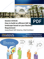 2310-How to Build an Efficient SAP Application Landscape Based on Your Business Requirement