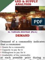 Demand & Supply - Final