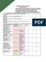 final portfolio checklist