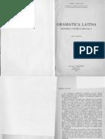 Gramática Latina -Histórico, Teórico, Práctica José Guillen