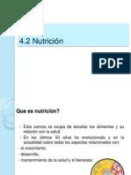 Desarrollo 4 Nutricion