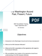 Washington Accord Overview