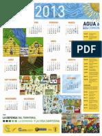 Calendario Agua Bien Comun