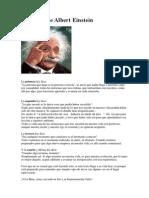 4 Leyes de Albert Einstein