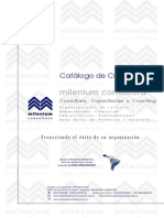 Catalogo de Cursos Milenium