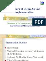 Ppt Clean Air Act
