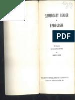 Elementary Reader in English- Robert j Dixson 1