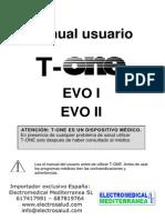Manual t One Evo I_ii