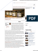 Pot for Pain_ More Patients Are Saying Yes _ the Daily Caller