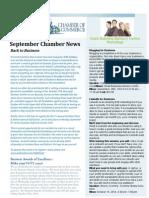 Chamber Monthly Newsletter SEPTEMBER 2014