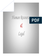 Hr and Legal