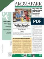 Takoma Park Newsletter - September 2014