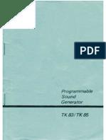 Psg Tk83 Tk85