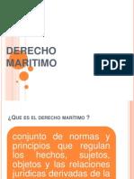 Derecho Maritimo Ppt