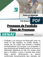 Aula 05 - Processos de Fundição
