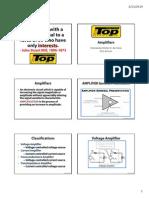 Amplifiers, Oscillators, Microelectronics - TIP
