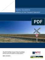 National Rail Safety Guidline - Accreditation of Rail Transport Operator - June 2008