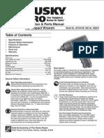 Husky 550 PRO Manual