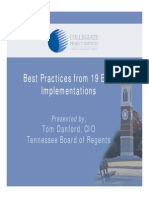 Best Practices From 19 ERP Implementations