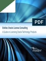 Randy Hardee Oracle Licensing Guide