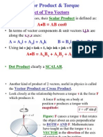 Vector (Cross) Product