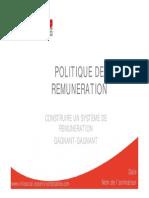 Support Politique Remuneration